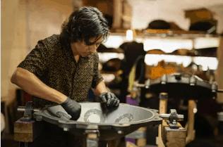 making a handpan
