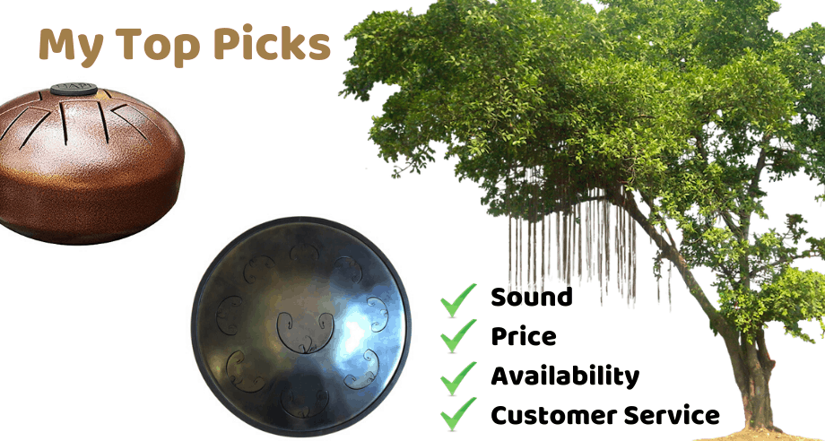 Recommended Tongue Drums