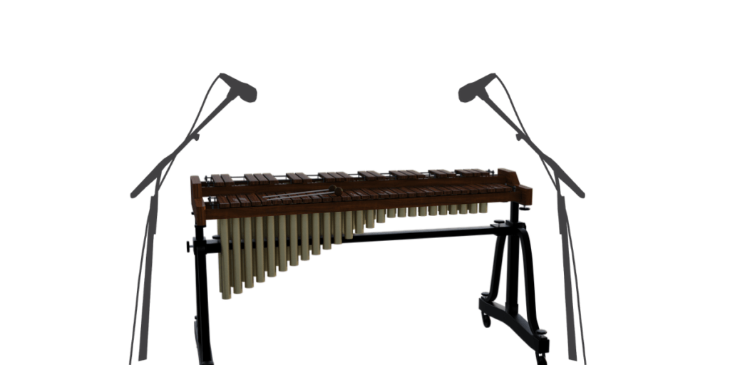 Stereo Mic placement for Xylophone