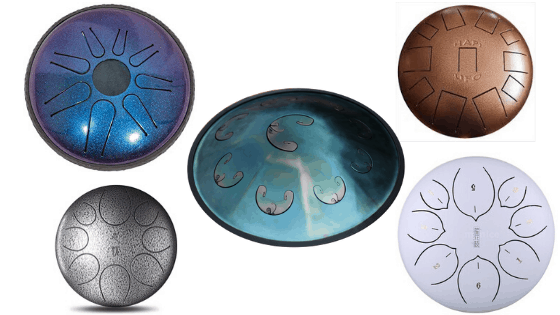 Different types of tongue drum designs