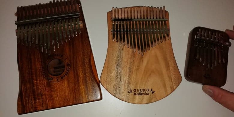 3 Kalimba compared for how to hold a Kalimba